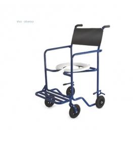 Cadeira de banho obeso braços removiveis Ortometal
