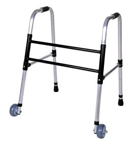 Andador Infantil 2x1 Fixo Dobrável com rodas Ortoprox