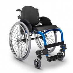 Cadeira de rodas monobloco M3  + Encosto + Assento Rígido - Ortobras