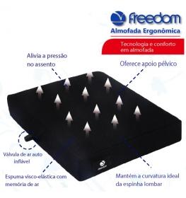 Almofada Ergonômica Auto-inflável Freedom