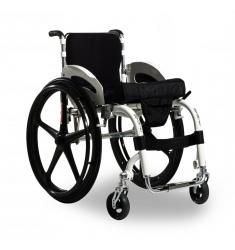 Cadeira de rodas monobloco New Ajustável Dinâmica Ortomix