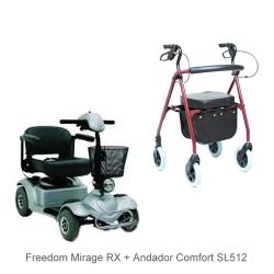 Mirage Rx Freedom +  SL512 Comfort