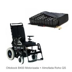 Cadeira de rodas Standard B400 Ottobock + Roho QS High Profile