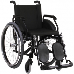 Cadeira de rodas obeso 120 kg Standard Care Plus XD Ortomix