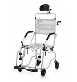 Cadeira de banho Alumínio Reclinável Jaguaribe