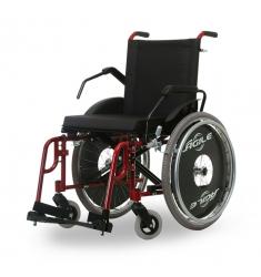Cadeira de rodas obeso 120 kg Agile Fat Jaguaribe