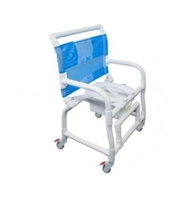 Cadeira de banho 300 CLO Multiuso para Obeso Carcilife PVC