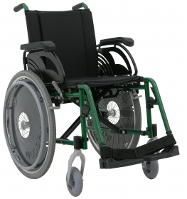 Cadeira de rodas obeso 150 kg Lumina LG Freedom
