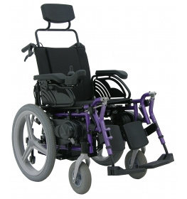 Cadeira de rodas motorizada Lumina LGR 20 Sistema Leito Freedom