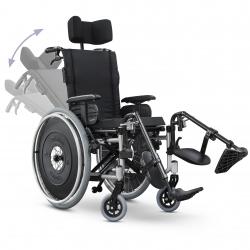 Cadeira de rodas reclinável AVD Reclinável Ortobras